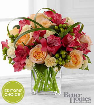 All Aglow Bouquet - Same Day Flowers
