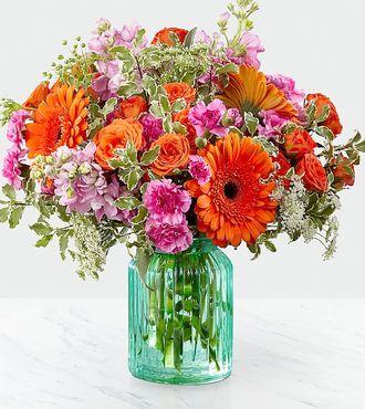 Aqua Escape Bouquet Same Day Flower Delivery
