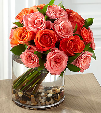 Blazing Beauty Rose Bouquet Same Day Flower Delivery