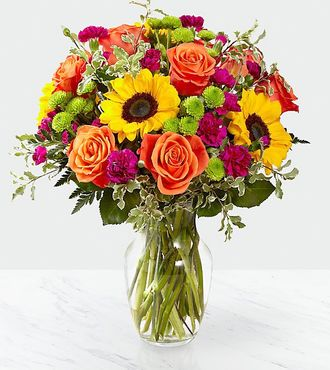 Color Craze Bouquet flowers same Day