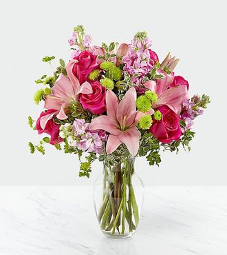 Pink Posh Bouquet Same Day Flower Delivery