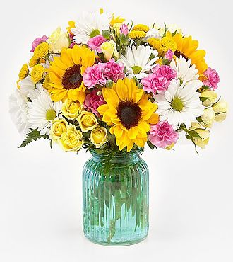 Sunlit Meadows Bouquet - Same Day Flower Delivery