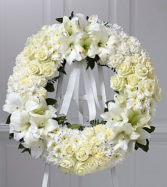 Funeral Wreath of Remembrance
