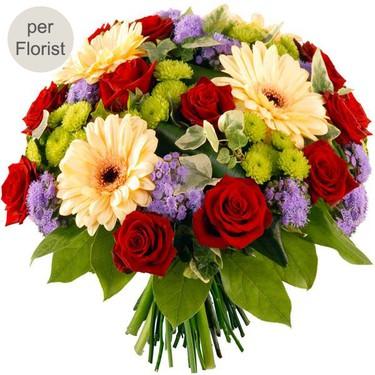 Flower-bouquet-macaron Flower delivery France - send Flowers