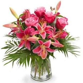 Lilien-pink Flower Delivery